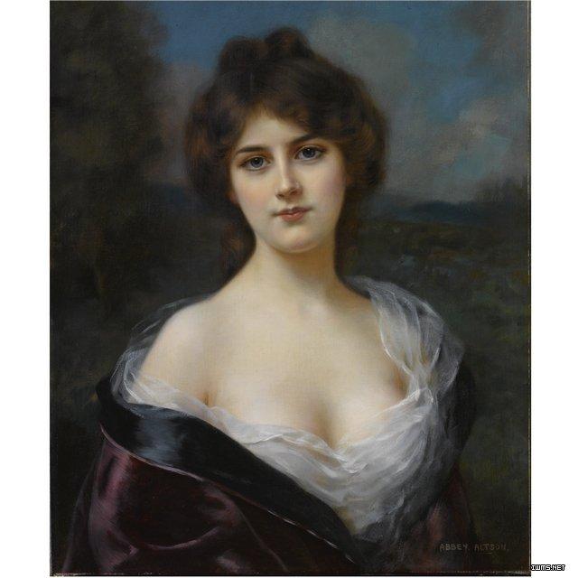 西方油画中的美女